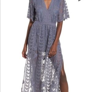 Nordstrom lace overlay stunning dress